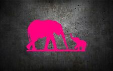 Elephant 5'' vinyl car sticker decal cute girly wildlife buy 1 get 1 FREE