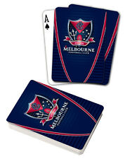 AFL Melbourne Demons Aussie Rules Deck Playing Cards Poker Cards Xmas Gift
