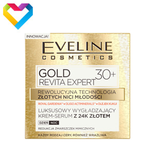 Eveline Cosmetics Gold Revita Expert 30+ Wrinkle Reduction All Skin Types 50ml