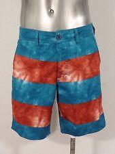 RVCA balance of opposites men's classic flat waist shorts 30