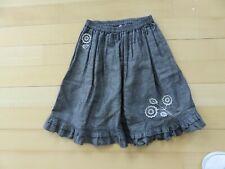Jacadi grey skirt size 6