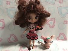 Littlest Pet Shop Blythe Doll B14 W/ Pet Mouse Sooo Cute!!!