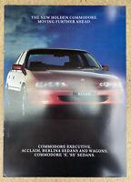 1993 Holden Commodore original Australian sales brochure