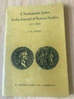 A Numismatic Index to the Journal of Roman Studies 1911-1965 by JR Jones