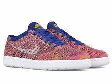 Nike Tennis Classic Ultra Flyknit Blue Pink Womens SZ 7 Casual Shoes 833860-400