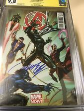 New Avengers #1 Campbell Color Variant Signed by J. Scott Campbell CGC 9.8 SS!
