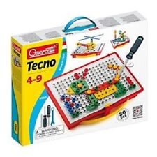 Quercetti Tecno 80 Piece Building Set