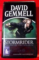 David Gemmell Stormrider Rigante 13-Tape UNAB.Audio Book Christopher Kay Fantasy