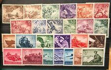 Germany 3 Reich  Armed Forces 1943/1944  Mi# 831-842 and Mi# 873-885 MNH