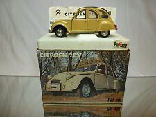 POLISTIL S26 CITROEN 2 CV 2CV  - CREAM 1:25 - EXCELLENT CONDITION IN BOX