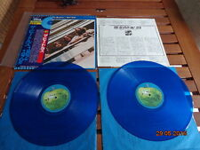 "THE BEATLES ""1967-1970"" - 2LP JAPAN + OBI + INSERTS -  BLUE WAX - EAS 50023/24"