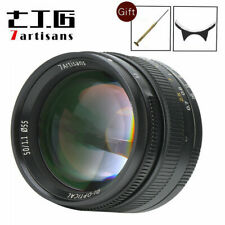 7Artisans 50mm F/1.1 Manual Focus Lens For Leica M Mount M3 M5 M6 M7 M8 M10 M9