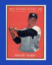 1961 Topps Set Break #478 Roger Maris MVP NR-MINT
