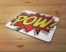 Comic Art POW Rubber Mouse Mat PC Mouse Pad