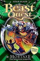 Mortaxe the Skeleton Warrior: Special 6 (Beast Quest), Blade, Adam, Very Good Bo