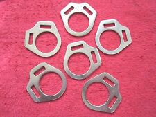 6 Vintage New Old Stock North & Judd Horse Halter Hardware Parts, Usa Made