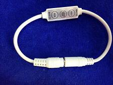 DC Plug Mini LED Controller Dimmer f 3528 5050 Sinlge Color Strip light 12V 12A