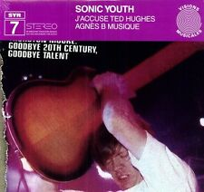 J'Accuse Ted Hughes - Sonic Youth (2008, Vinyl NUEVO)