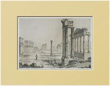 ITALIA:ROMA, FORO ROMANO=Passepartout=Artaud.1835.