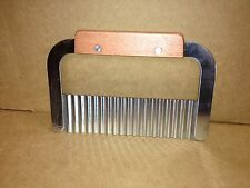 Wax or Soap Cutter w/serrated blade, Bread Dough, Cookies  Stainless Steel