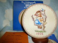 """Hummel Annual Plate 1976  """"Apple Tree Girl""""  NEW IN BOX"""