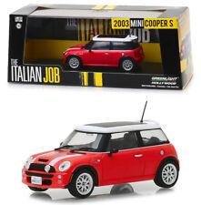 2003 Mini Cooper S Rot Weiß The Italian Job 1:43 GreenLight 86547