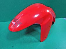 Aprilia moto 8226643 RS50 RS 50 front mudguard parafango anteriore rosso fluo