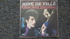 "Mink DE VILLE-Love a Emotion 7"" single"