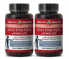 Natural Anti-Parasite Pills - Anti-Parasite Blend 1485mg - Kill and Cleanse 2B
