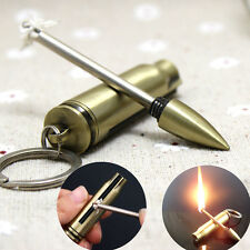 Survival Fire Starter Hiking Flint Match Lighter Outdoor Camping Kit Portable