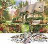 1000 Piece Jigsaw Puzzle England Cottage Landscapes Puzzles Toys V3W7