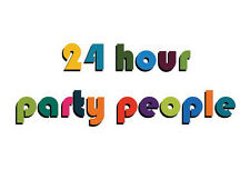 24 hour party people Manchester themed Birthday Card