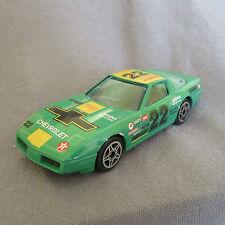 35E Burago 4152 Chevrolet Corvette C4  Wrangler Vert 1:43