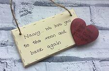 Personalised christmas gift for grandad/grandpa/nanny/nanna wooden plaque