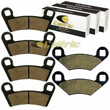 FRONT and REAR BRAKE PADS FIT POLARIS OUTLAW 525 2X4 IRS 2007-2011