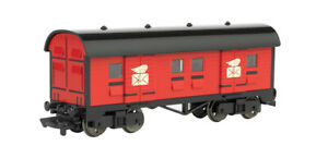 Bachmann 76040 MAIL CAR - RED (HO SCALE) Thomas the tank engine and Friends NEW