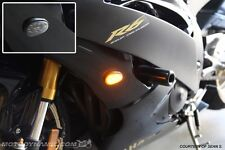 08-16 Yamaha YZF R6 Flush Mount LED Turn Signals Kit Dual Circuit w/ Resistors