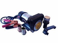 Pompa Travaso Elettrica Carburante ACQUA OLIO DIESEL 12V 24V 200 watt auto barca