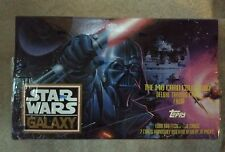 Star Wars Galaxy 140 Card Collection Topps 1993 New in box sealed slight tear