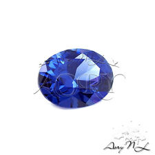 1pcs AAAAA 8x6mm Dark Tanzanite Cubic Zirconia, Brilliant Cut,Faceted CZ