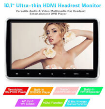 "10.1"" Ultra Thin Portable Digital HD TFT LCD Headrest Monitor DVD Player+HDMI"