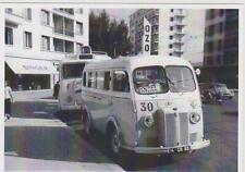 carte postale - PEUGEOT D4A BUS DE 1958