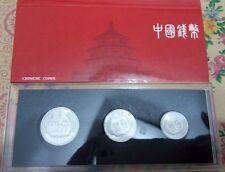 China 1985 year 1 Fen+2 Fen+5 Fen coins set 3PCS