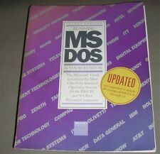 Running MS-DOS (all versions through 3.1) 2nd Ed. Van Wolverton 1985 Paperback