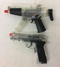 2 Electric Crosman Airsoft Guns, Pulse P50 & M70