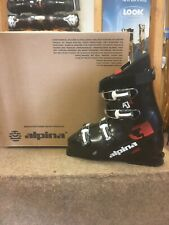 Alpina Aj4, 27.5, Ski Boots - Black, Red (New)