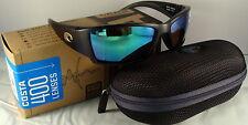 Costa Del Mar Corbina - Matte Black - 400G Green Mirror Glass Lens