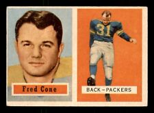FRED CONE  1957 TOPPS 1957 NO 107 EX+ 19330