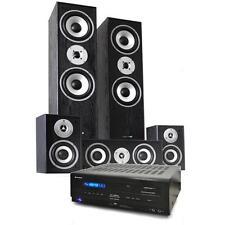 HOME CINEMA HIFI SURROUND SOUND 5.1 SPEAKER SYSTEM AMPLIFIER LOUD SPEAKER USB SD