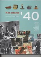 NOS ANNEES 40-NB ILLUSTRATIONS-DESIGN-DECO-SPORT-ACTUALITES-BD-JOUETS-VOIR PHOTO